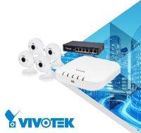 Vnitřní kamerový systém VIVOTEK 4x IP8160 + ND8312